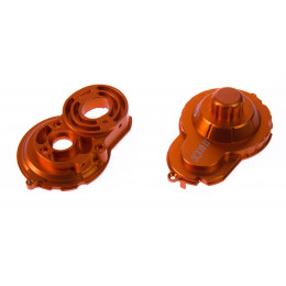 GPM Support moteur + protection couronne alu orange (x2) SCX2038GC-OR
