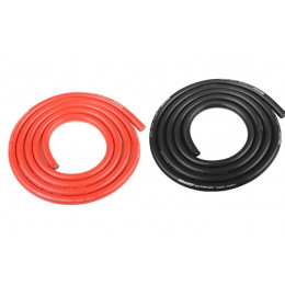 Corally Rallonge Fil Noir Ultra V+ Silicone Super Flexible 10AWG 1m 50106