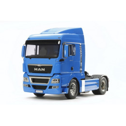TAMIYA Camion Man TGX 18.540 4x2 XLX French Blue KIT 56350