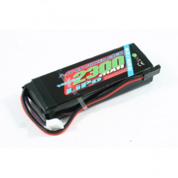 Voltz Batterie de réception 2300mah 2S 7.4V STRAIGHT VZ0270