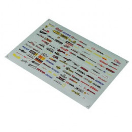 Matrixline Stickers Multiple Logo A012