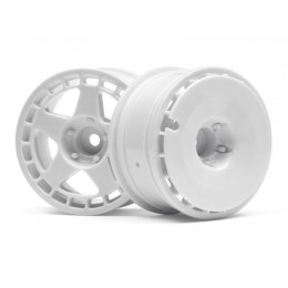 HPI Jantes Blanche Fifteen52 Turbomac 26mm (x2) 114637