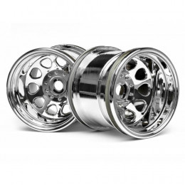 HPI - Jantes Classic King Chrome - 3062