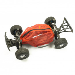 Dusty Motors Housse de protection Slash 2WD LCG Rouge