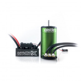 Castle Combo Mamba Monster X SCT + Moteur 1415 2400KV Sensored