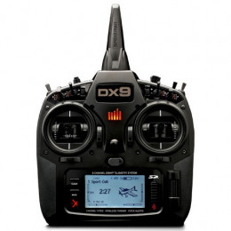 SPEKTRUM Radio DX9 Black Edition Mode 2 SPMR9910EU