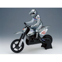"""Racing Anderson Motocross M5 1/5"""" Brushless RTR (Argent)"""