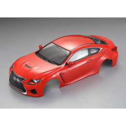 Killer Body Carrosserie Lexus RC F 195mm Orange Métal RTU KB48649
