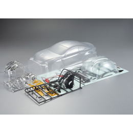 Killer Body Carrosserie Lexus RC F 195mm Clear Kit KB48627