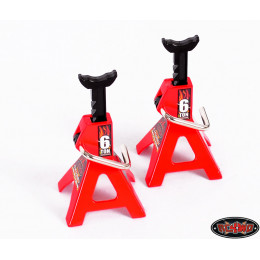 RC4WD Chandelle 6 Tonnes Scale Chubby Jack Stands (x2) Z-S0588