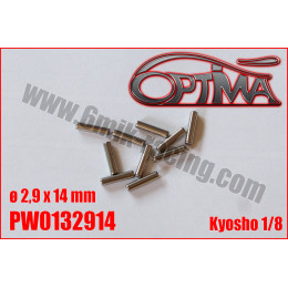 Optima Goupilles de cardan ø2,9x14mm PW0132914