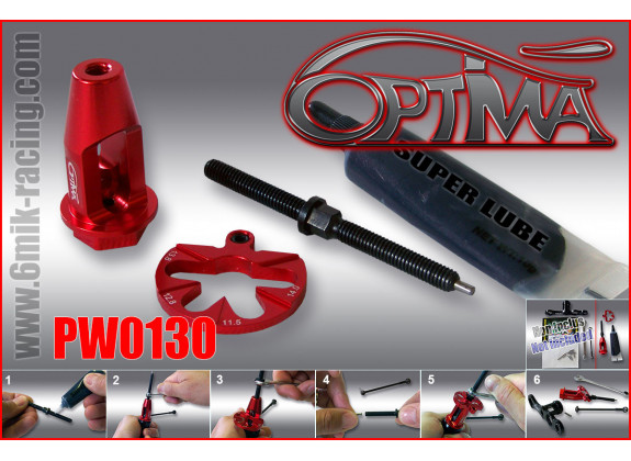 6Mik Outil chasse goupille PW0130
