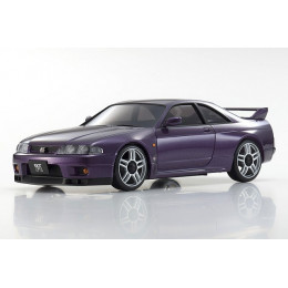 Kyosho AutoScale Mini-Z Nissan Skyline GT-R V.Spec (R33) Midnight Purple (MA-020) MZP438PU