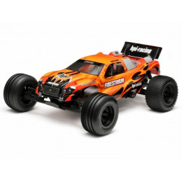 HPI Carrosserie Firestorm DSX (Noir/Orange) 7775