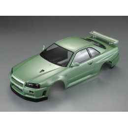 Killer Body Carrosserie Nissan Skyline R34 Green RTU KB48646