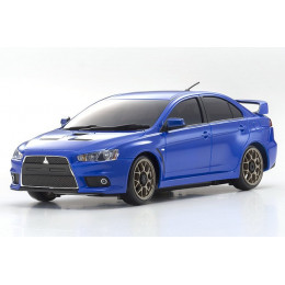 Kyosho Mini-Z MA-020 Sports 4wd Mitsubishi Lancer Evolution X Metallic Blue RS + KT19 RTR 32142MB