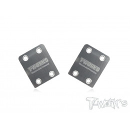 T-works Sabot de Protection Chassis Inox HB (x2) D815/D817/E817 TO220HB