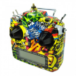 FrSky Radio Taranis X9D Plus Mode 2 Rock Monster Edition + Valise souple