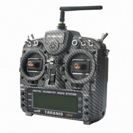 FrSky Radio Taranis X9D Plus Mode 2 Matt Carbon Edition + Valise souple