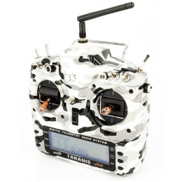 FrSky Radio Taranis X9D Plus Mode 2 Camouflage Edition + Valise souple