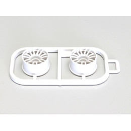 Kyosho Jantes Blanches Mini-Z MR03 Large 0 (x2) MZH131W-W0