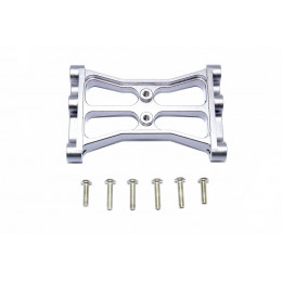 GPM Support central chassis alu gris TRX4015R-GS