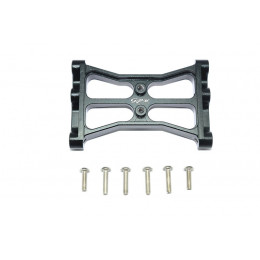 GPM Support central chassis alu noir TRX4015R-BK