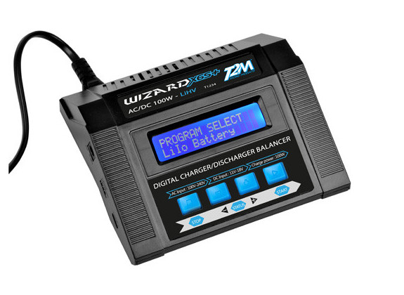 T2M Chargeur Wizard X6S+ 10W AC/DC T1234