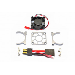 GPM Ventilateur + support alu gris Slash 4x4 SLA018FANLCG-GS
