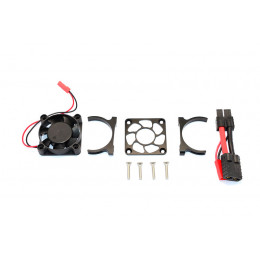 GPM Ventilateur + support alu noir Slash 4x4 SLA018FANLCG-BK