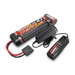 Traxxas Batterie Ni-Mh 8.4V 3000mAh et Chargeur 2983PACK