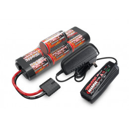Traxxas Chargeur 4A + Ni-Mh 8.4V 3000mAh hump 2984PACK