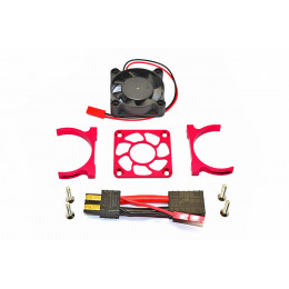 GPM Ventilateur + support alu rouge Slash 4x4 SLA018FANLCG-R