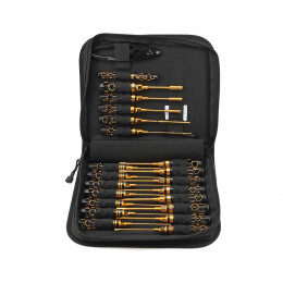 Arrowmax Trousse à Outils Honneycom Black Gold (23pcs) AM199442