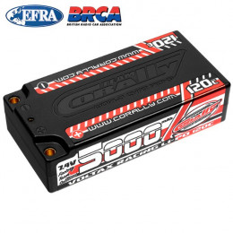 Corally Accu Li-po Voltax Shorty 2S 7.4v 5000mAh 120C 49505