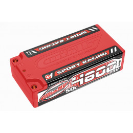 Corally Accu Shorty Sport Racing 7.4v 4800mah 50C 49405
