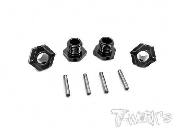 T-Work's Moyeu de Roue Light Weight Alu MBX-8 (x4) TO-245-M
