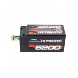 Ultimate Accu Li-po Shorty 4S 14.8v 5200mAh 110C UR4433