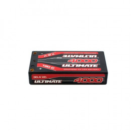 Ultimate Accu Li-po Shorty LCG 2S HV 7.6v 4000mAh 120C UR4443