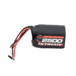 Ultimate Batterie de Réception Li-po 2S 7.6v 2500mAh JR UR4452