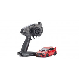 Kyosho Mini-Z FWD Honda Civic Type R Rouge + KT531P RTR 32424R