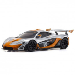 Kyosho AutoScale Mini-Z McLaren P1 GTR Silver/Orange (W-MM) MZP235SO
