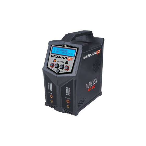 T2M Chargeur Wizard 2X 80W DC T1248