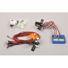 T2M Kit Leds + Controleur 1/10 T422530